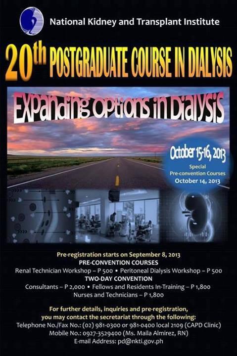 NKTI 20th Postgraduate Course