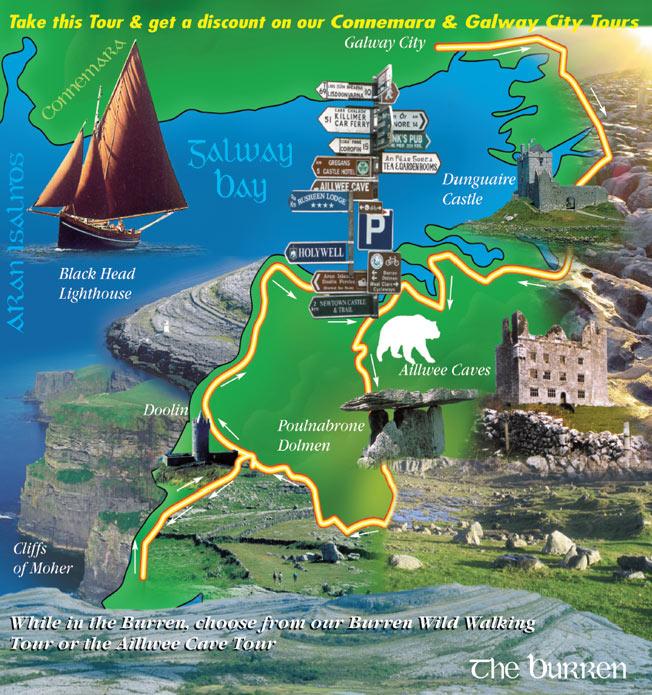 burren-tour-map