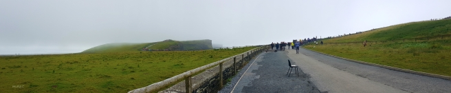 panorama cliff entrance