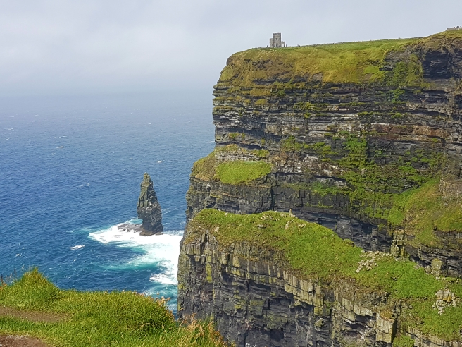 sea stack at cliff